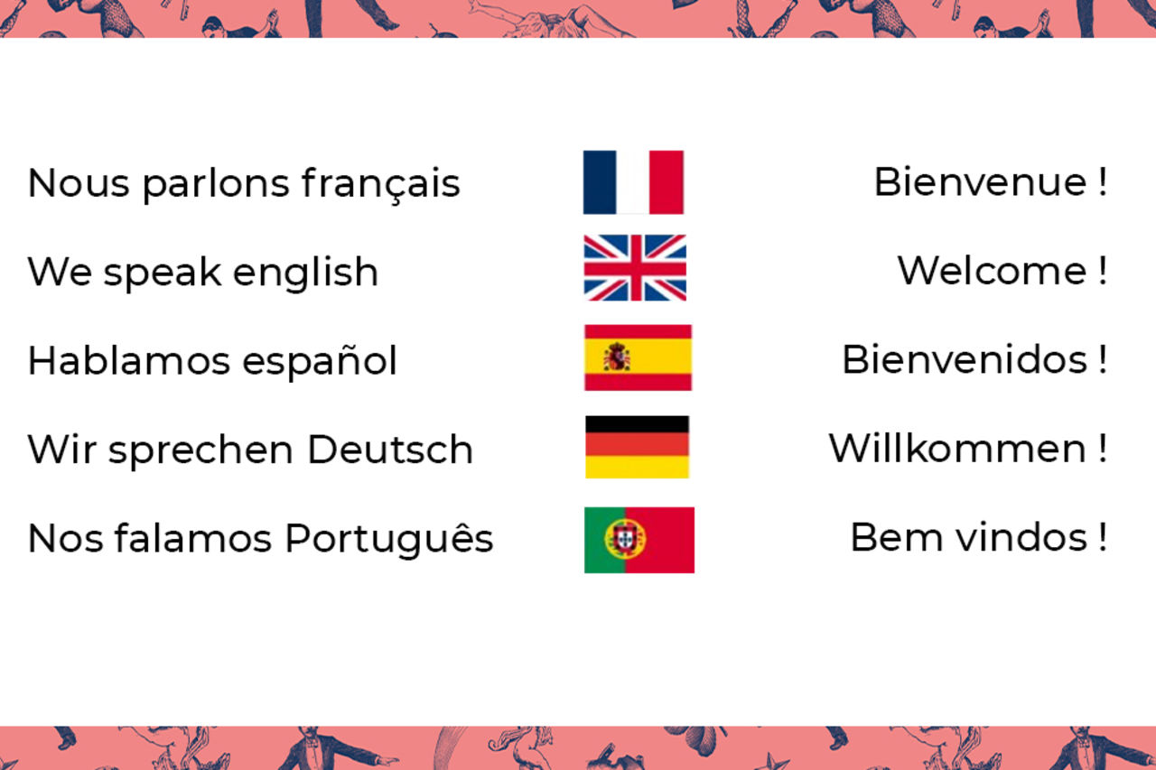 Un bistrot polyglotte