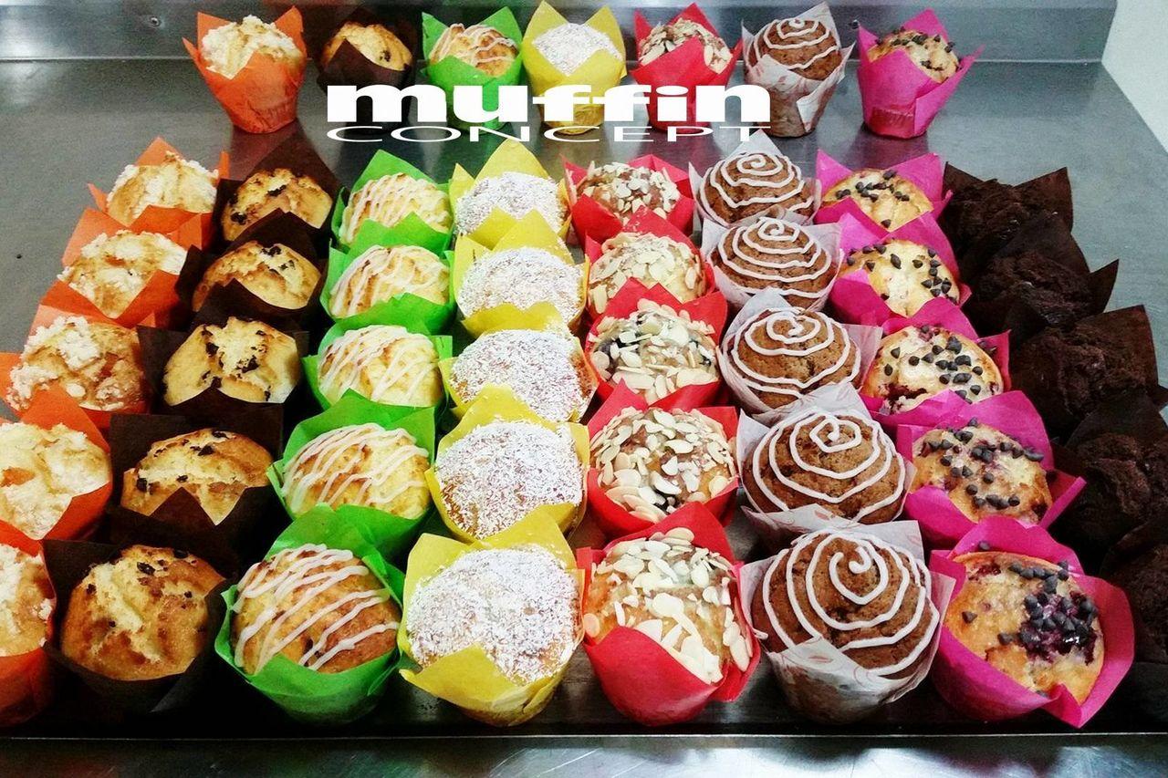 sladké muffiny
