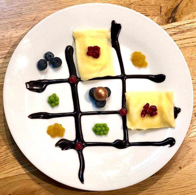 A la Pasta Dessert creation