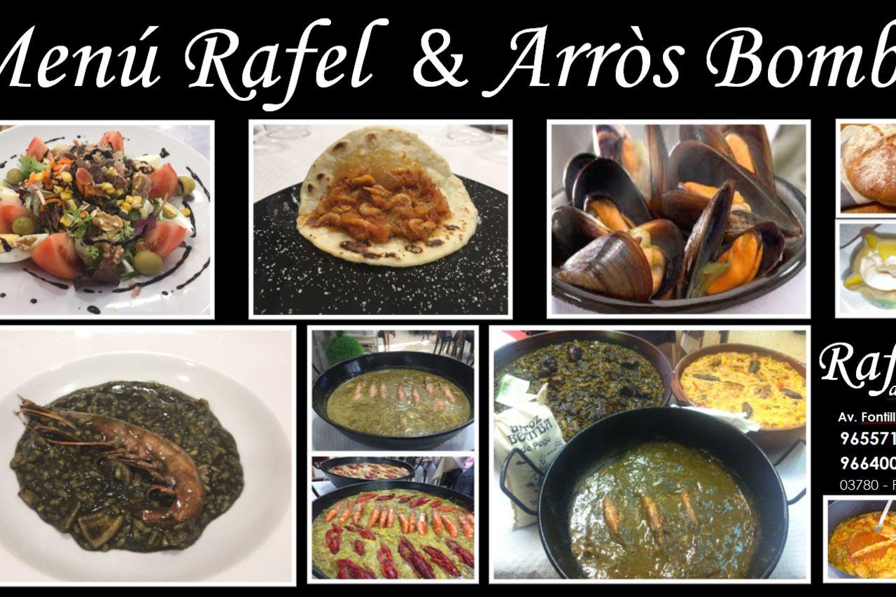 Menú Rafel&Arròs Bomba