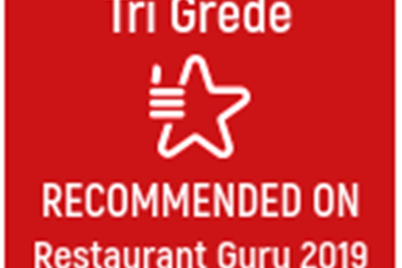 Restaurant Guru award for 2019