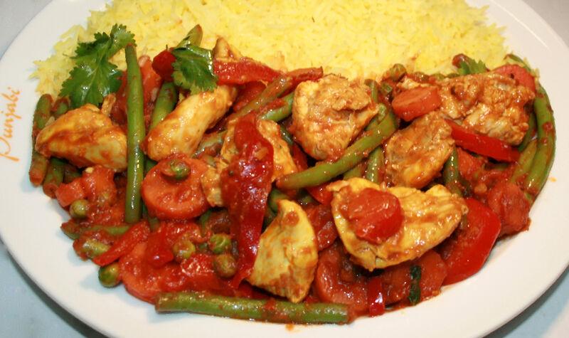 Chicken Gemüse Curry