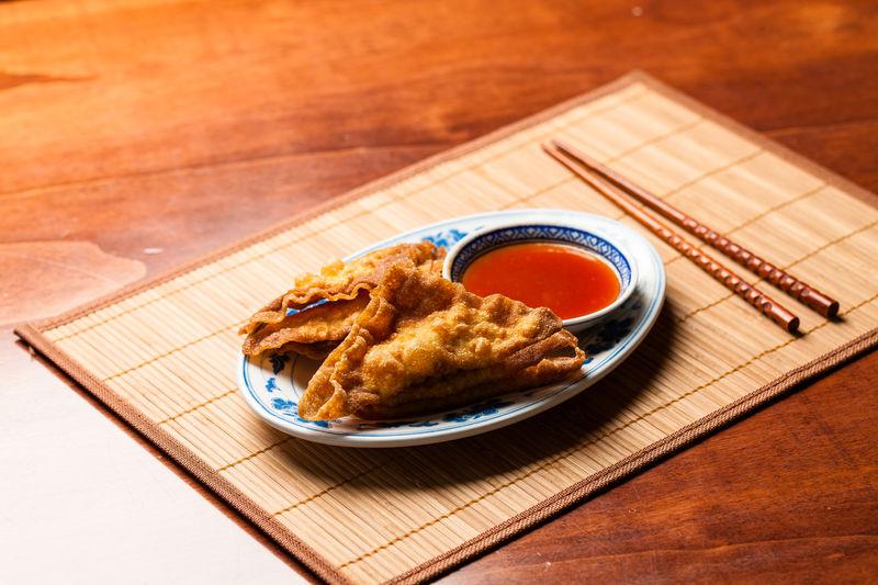 14 | Wan-Tan Teigtaschen, gebacken