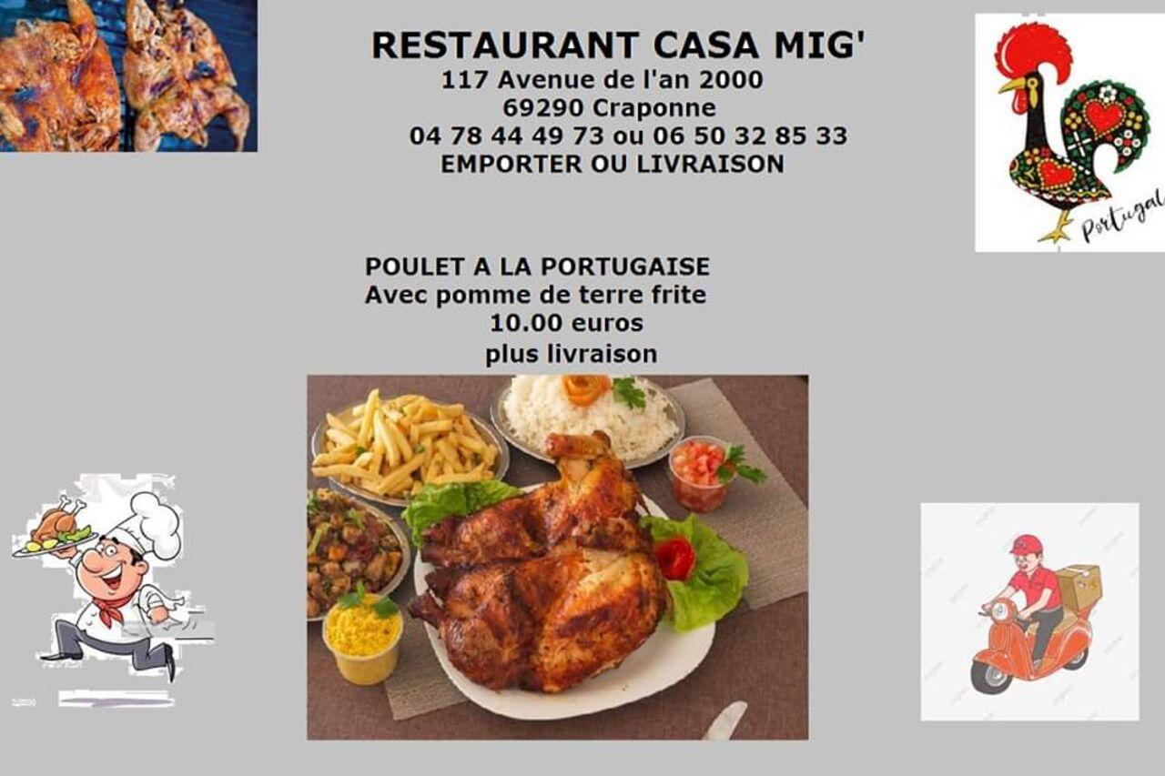 Casa Mig - Craponne  Portugaise cuisine près de moi  Réserver