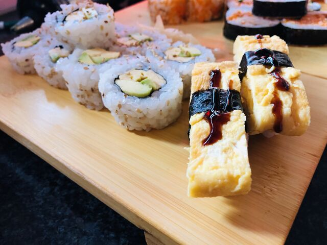 Für Vegetarier und Veganer haben wir ebenfalls eine leckere Auswahl an Sushi Menüs.
