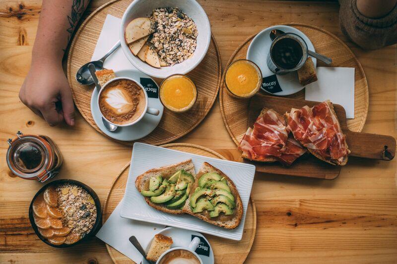 Los desayunos de Green Republic, de lunes a viernes hasta las 12h.