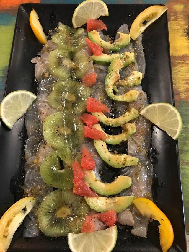 Ceviche de filet de Perroquet (Mexique)