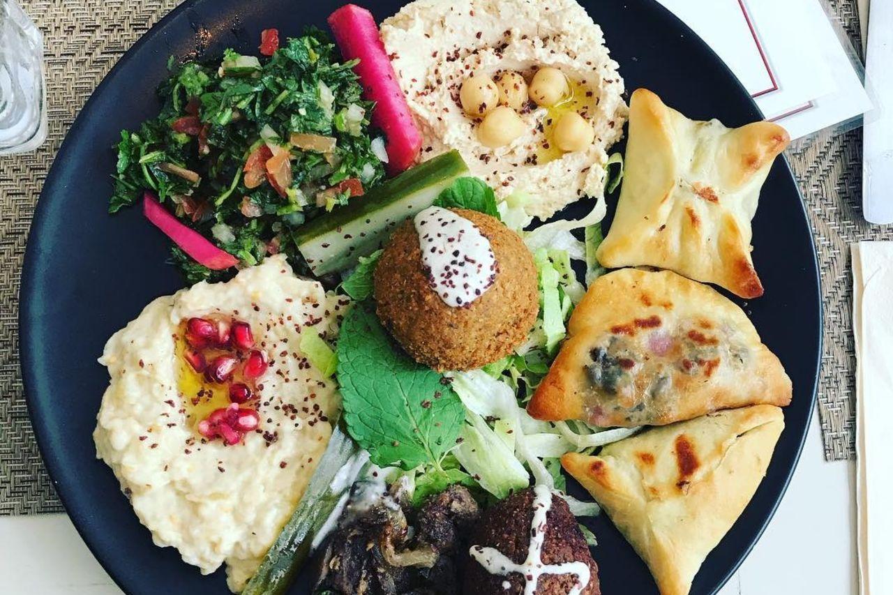 Assiette Mezzés
