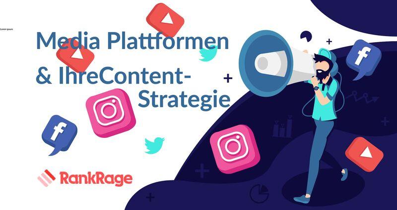 Media Plattformen und ihre Contentstrategie