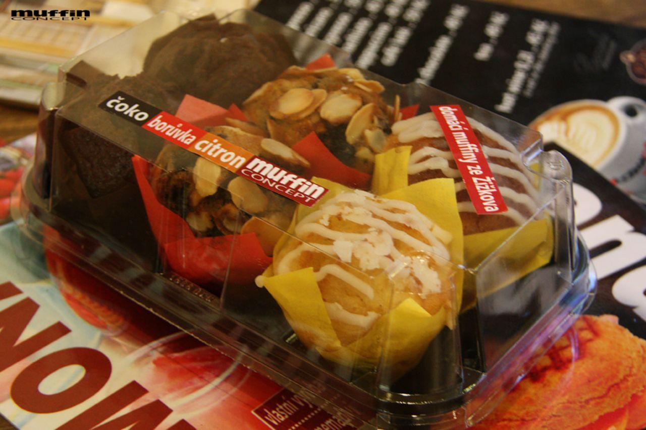 mix mini muffinů