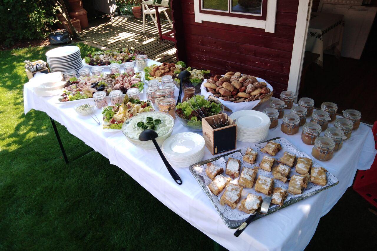 Catering bei einer privaten Feier