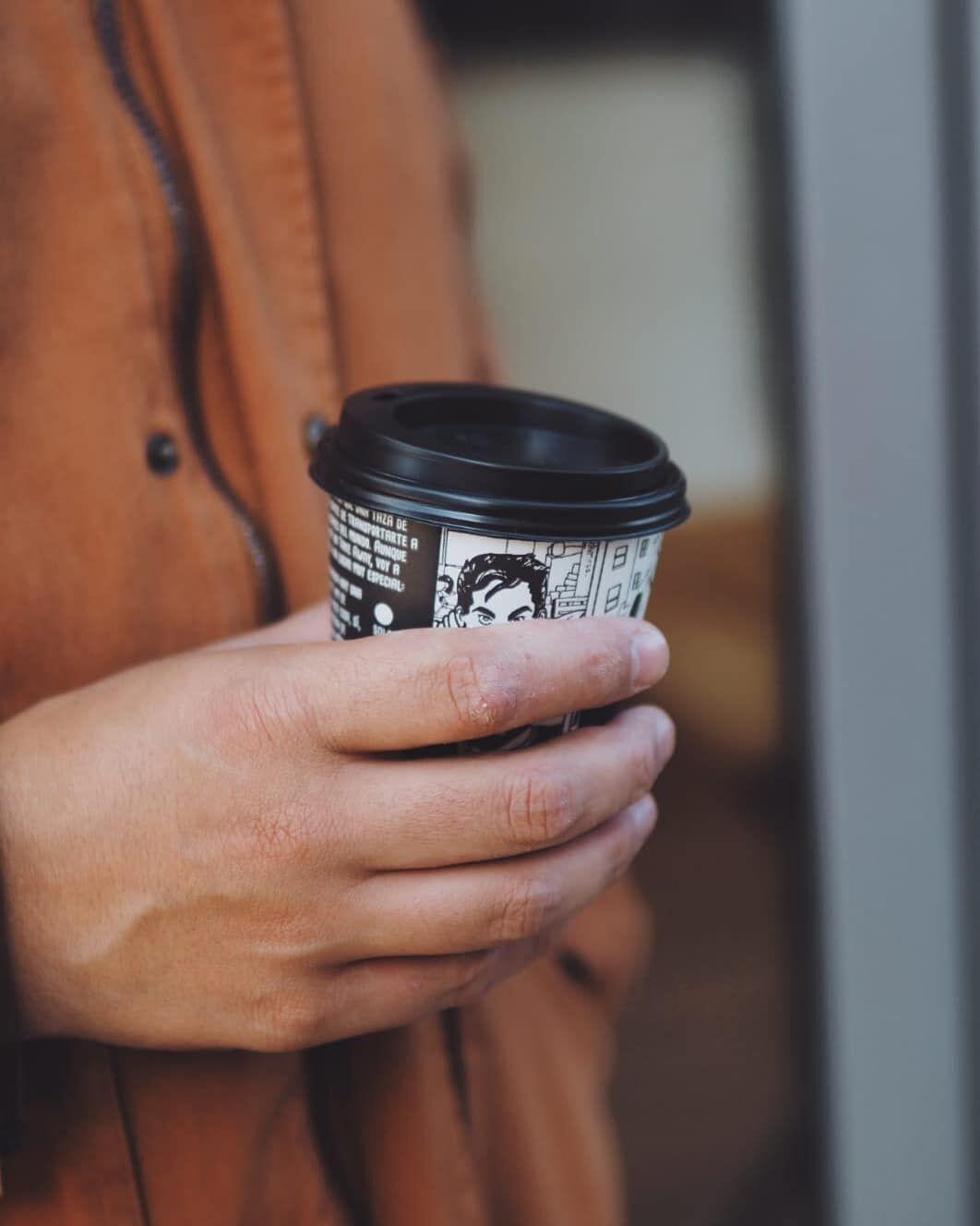 Nuestro café también para llevar.