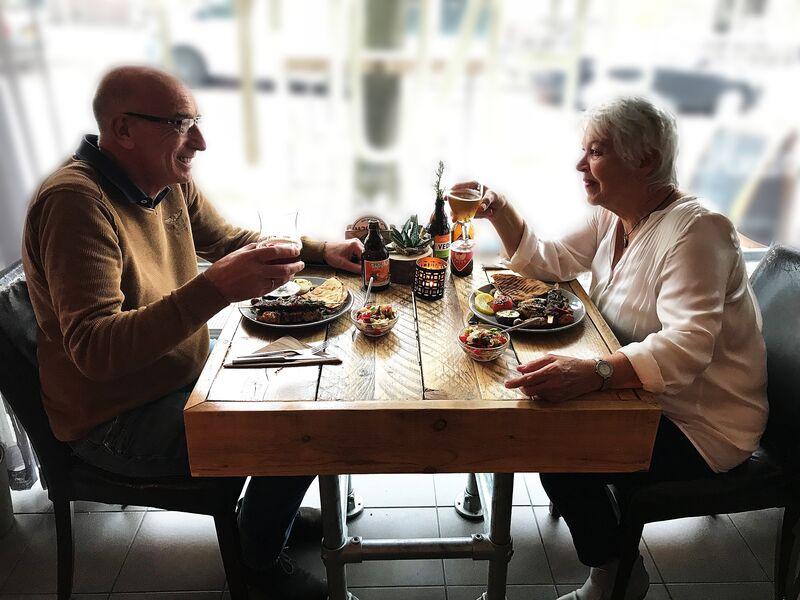 Romantisch genieten met z'n 2, of het hele restaurant afhuren voor uw jubileum of verjaardag; alles is mogelijk bij ENJOY!
