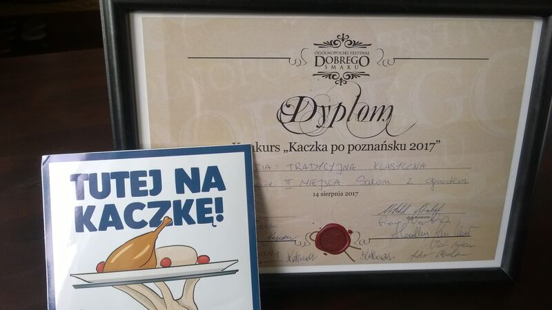 rekomendacja i dyplom