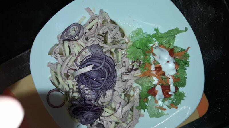 Wurstsalat in 3 Variationen