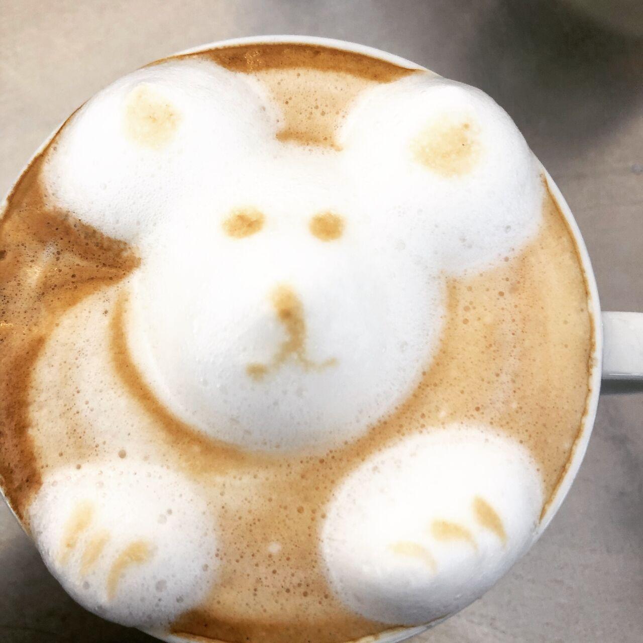 Cappuccino 3D con Enrico