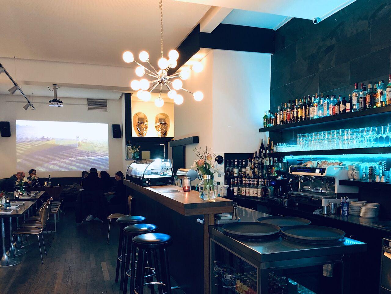 Restaurant-/Barbereich
