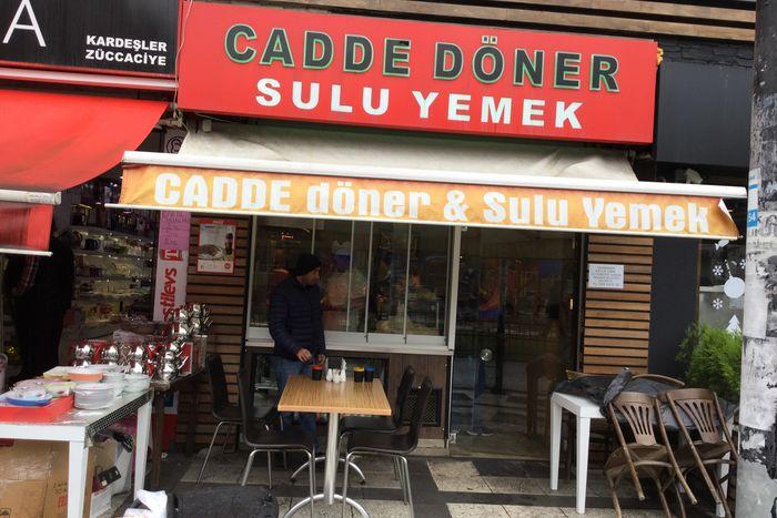 Cadde Döner Sulu Yemek Cooking School Istanbul Avcılar Turkish