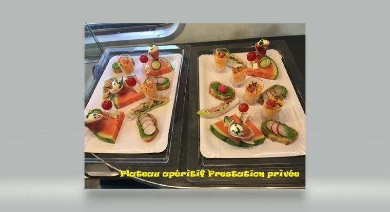 Plateau apéritif prestation privée