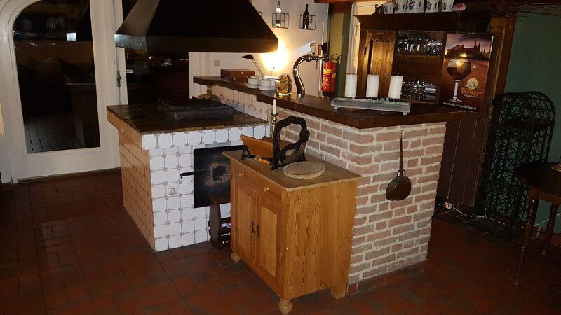 Front cooking, grillen in de molensteen