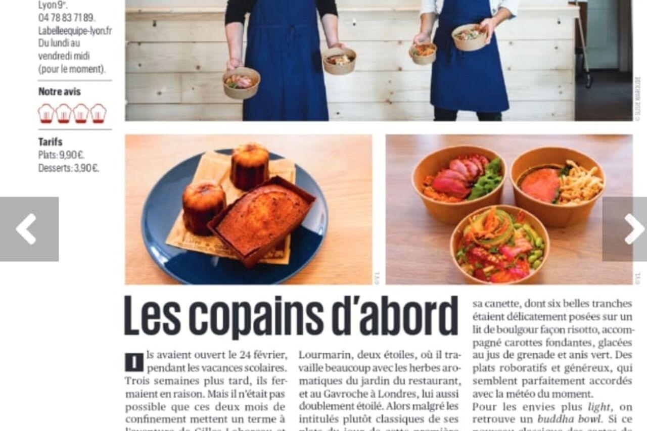 La Belle Equipe sur Tribune de Lyon