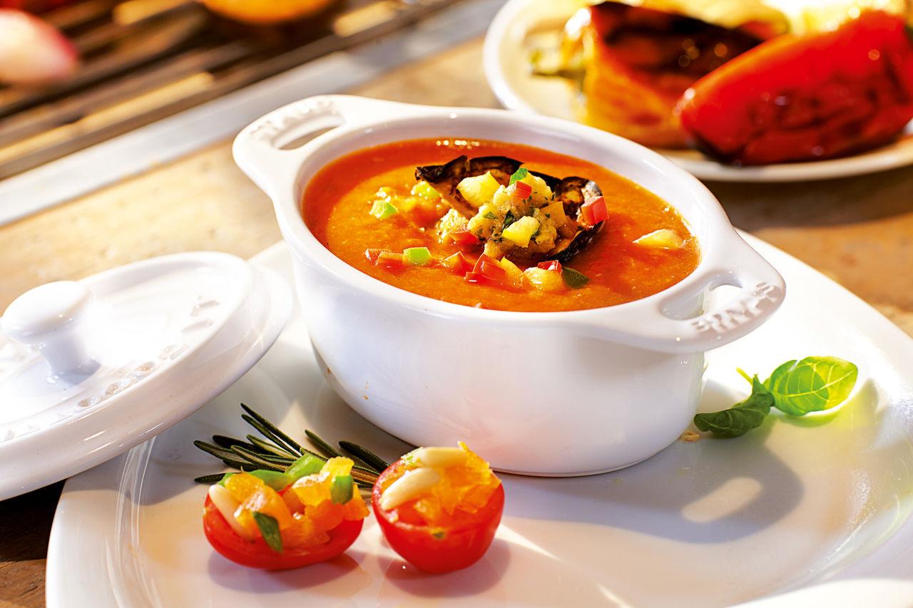 Les soupes de légumes,les tartes, les pates, les salades, le tartare..