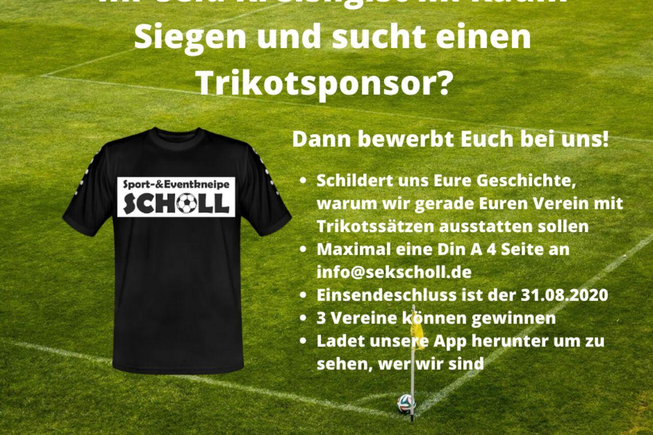 Sponsoring-Ausschreibung