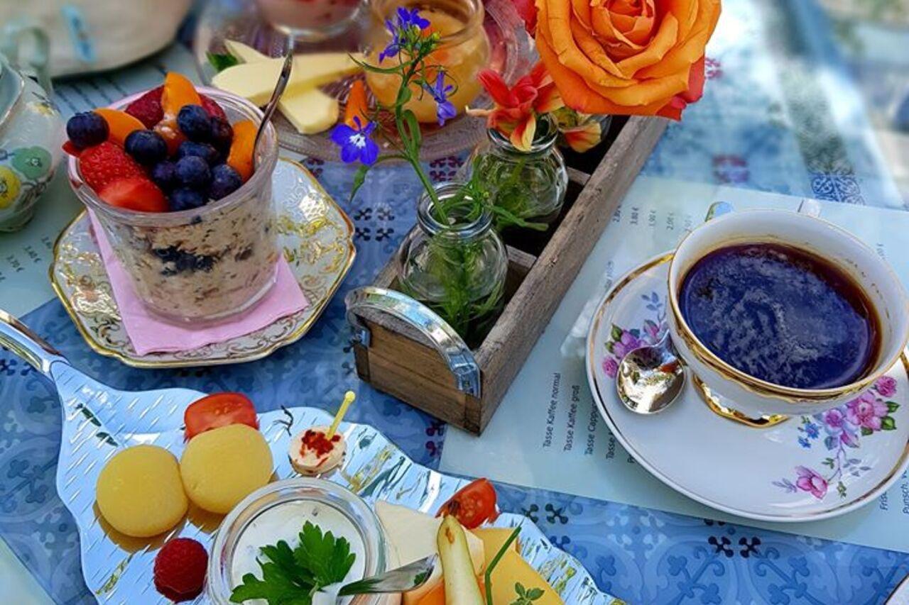 Stilvolles Händelfrühstück