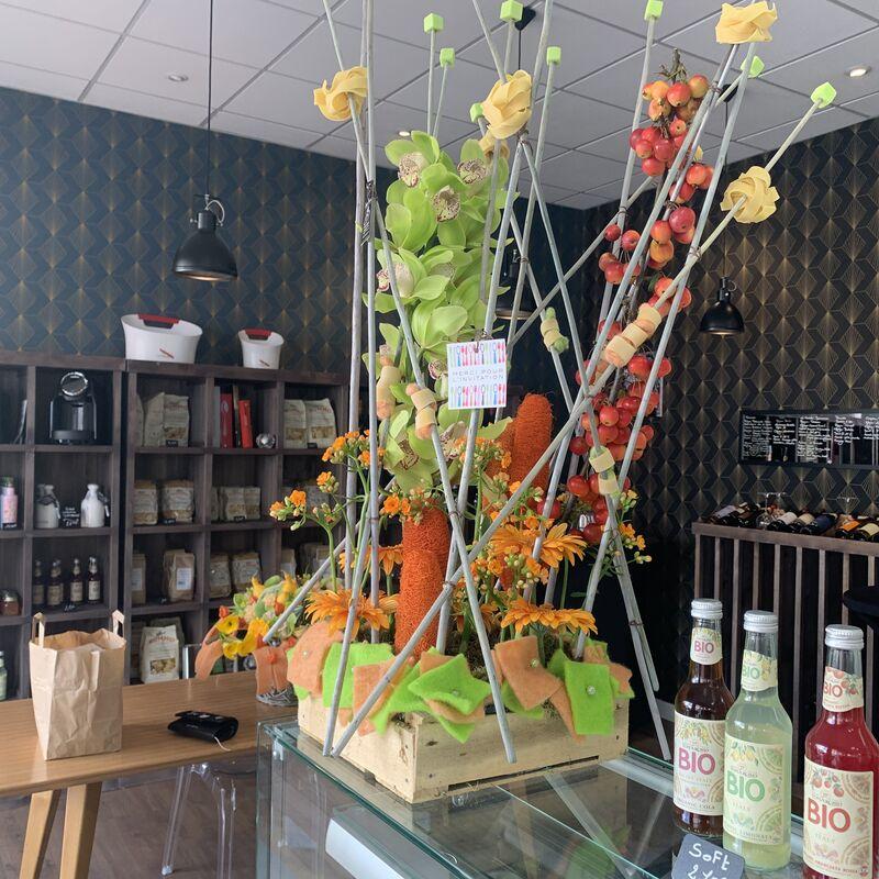 Inauguration officielle le 10 octobre. Merci à Josée fleurs, Montigny les Metz pour la superbe composition