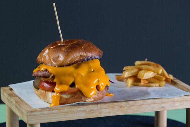 Esta es la Mileurista. Nuestra Burger más clásica.