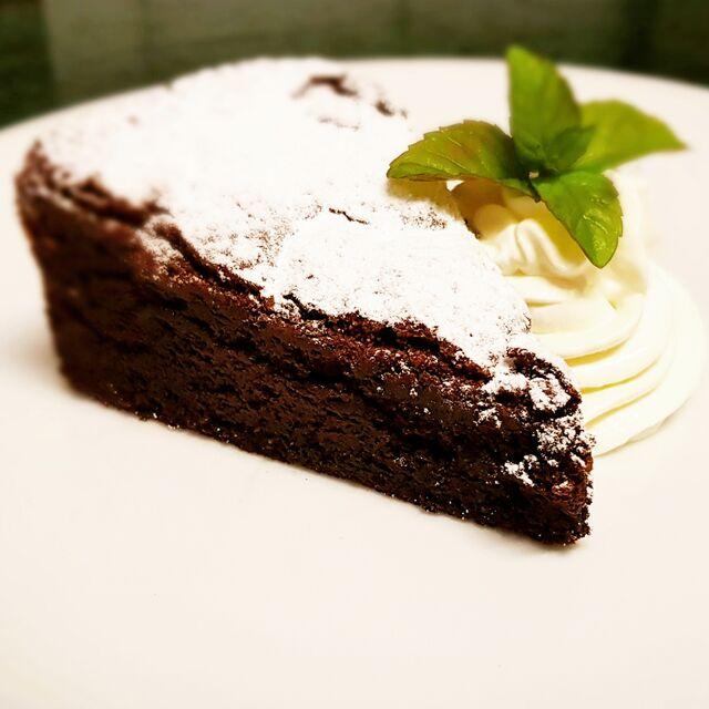 Čokoládový dezert