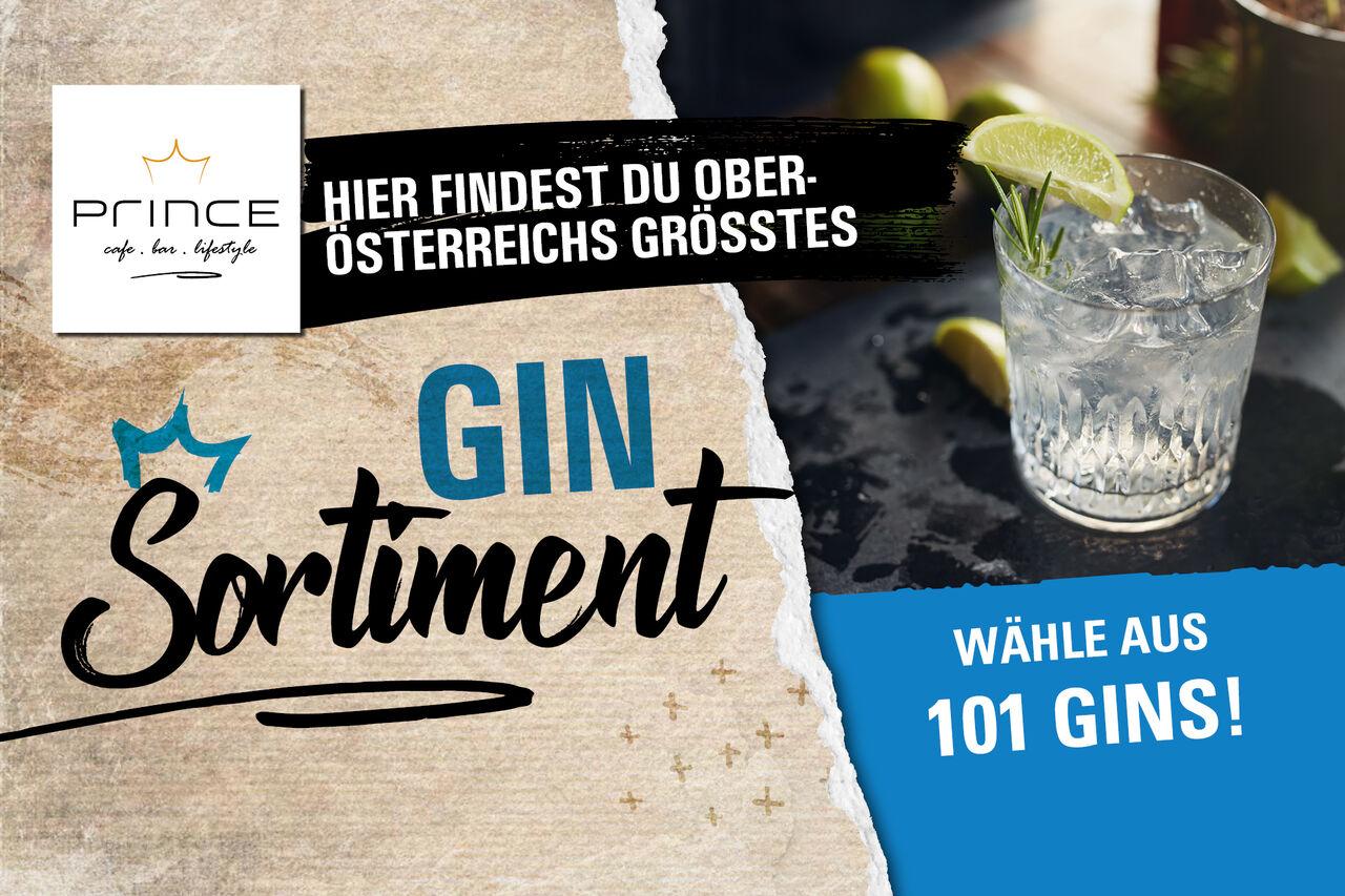 Oberösterreichs größtes Gin Angebot!