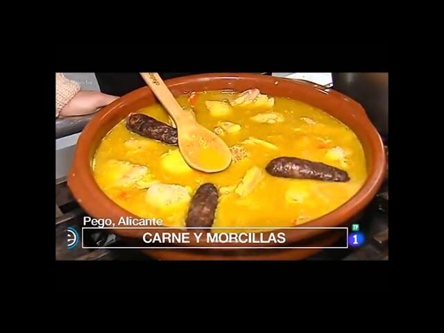 Preparamos nuestro Arroz con Costra (Arròs amb Crosta) de Pego, para nuestros amigos del programa de television de la 1, @España