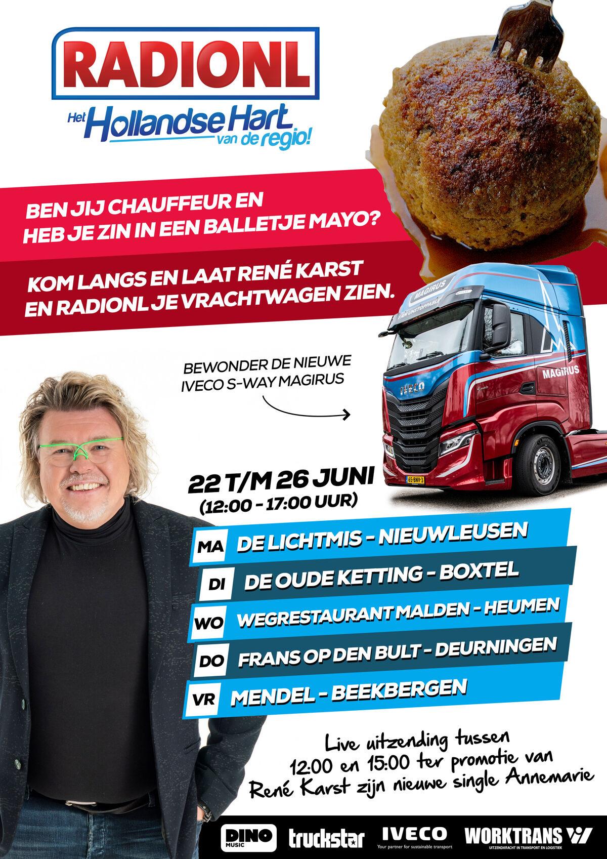 Radio NL - Week van de vrachtwagenchauffeur
