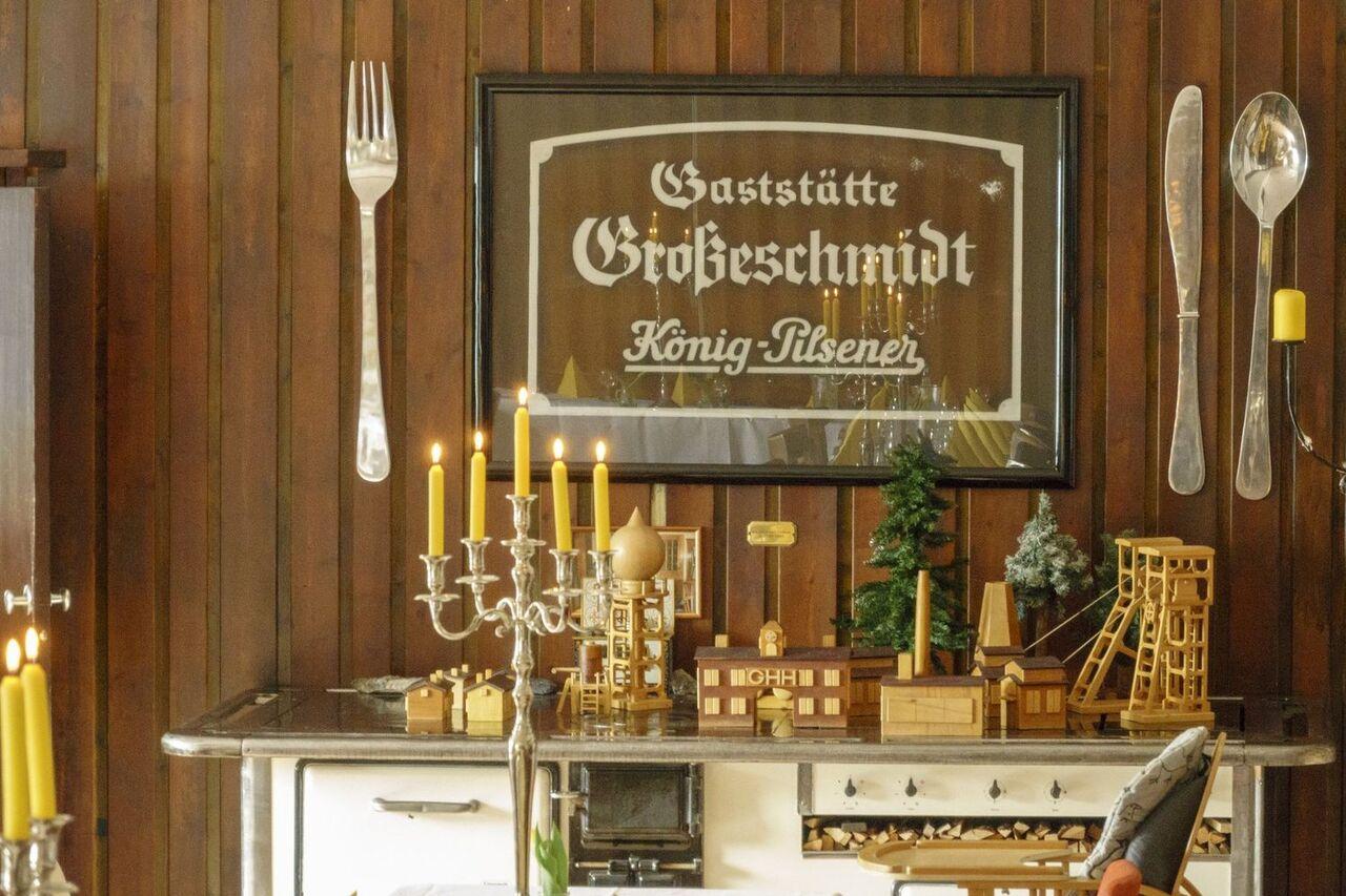 und noch viel früher... Gaststätte Große-Schmidt