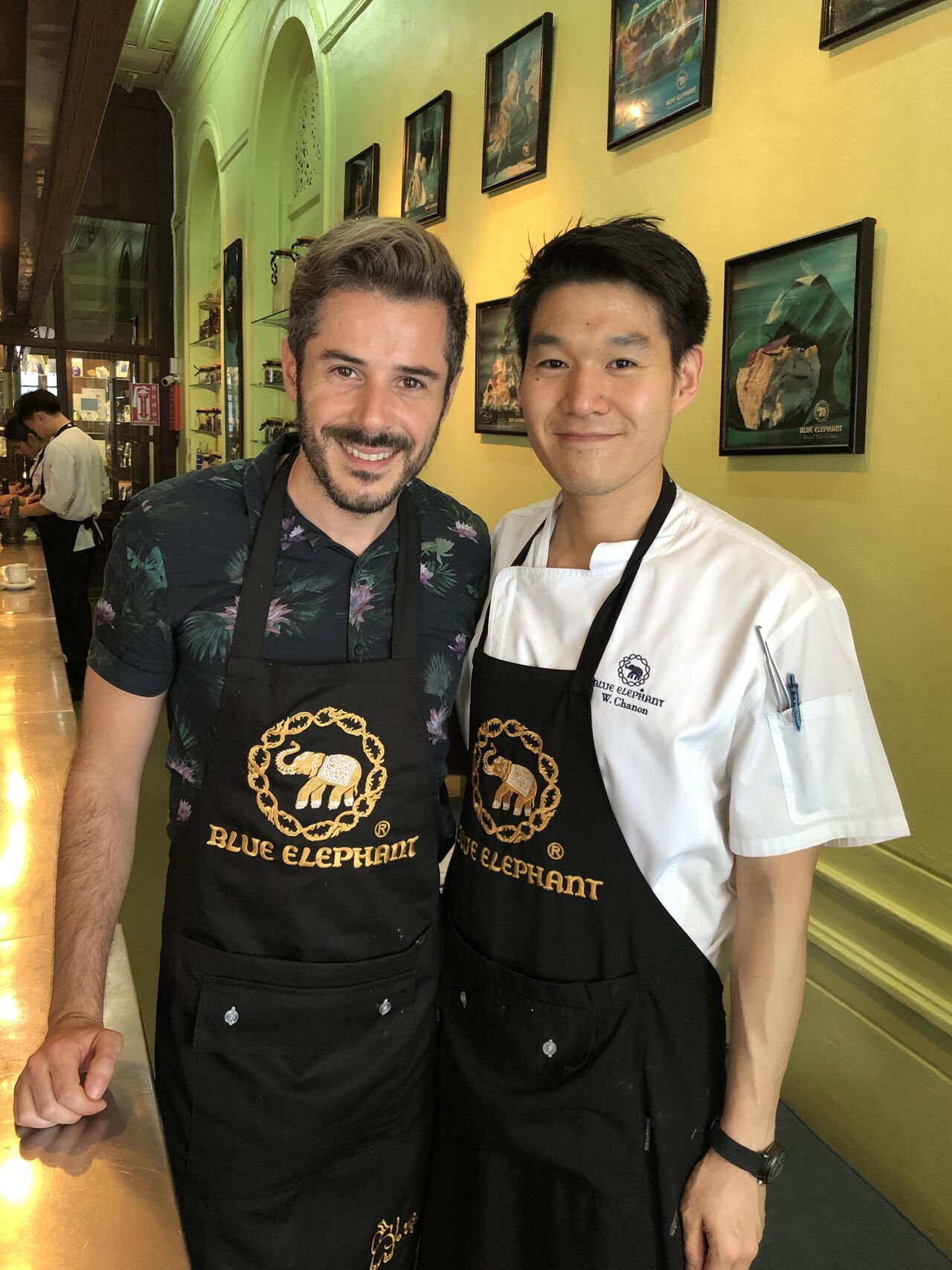 Formation Chef professionnel au Blue Elephant de Bangkok
