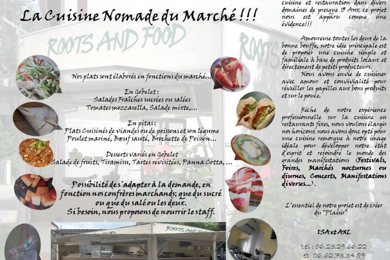 Idée Repas Pour Deux Amoureux roots & foods - foodtruck saint-denis-de-pile | french
