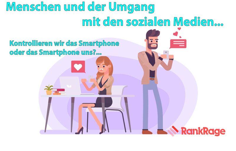Kontrollieren wir das Smartphone oder das Smartphone uns?