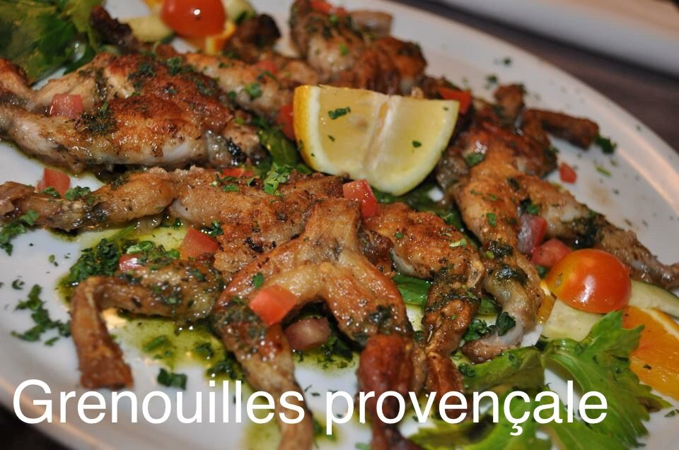 Frog Legs Provençal Cuisses de grenouilles provençales