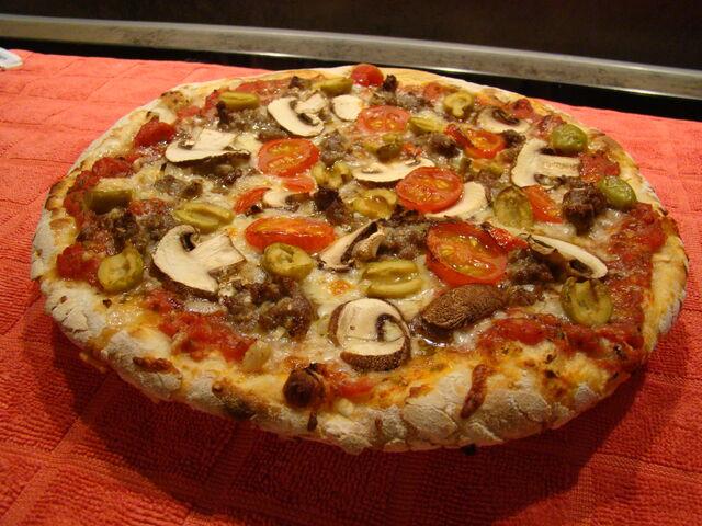 Ein Mittags-Snack. Pizza....die 2. Leidenschaft neben dem BBQ 😋