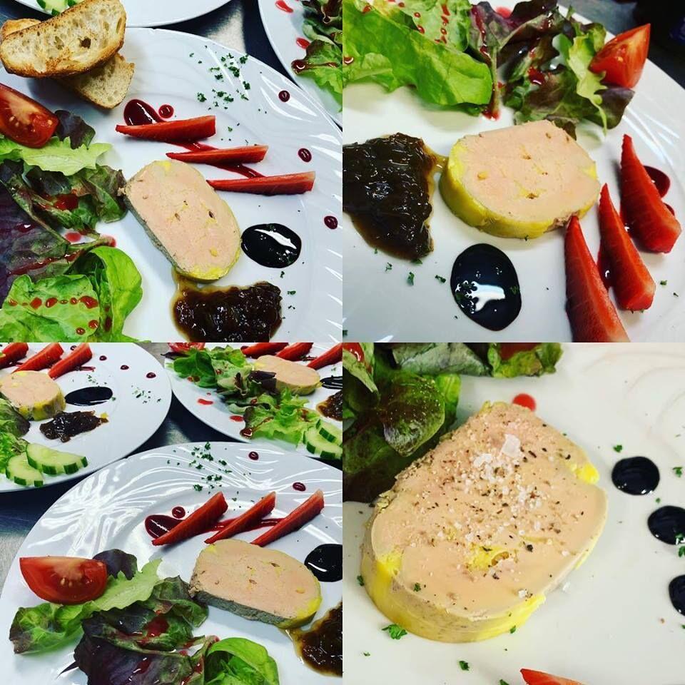 Foie gras maison au vin jaune