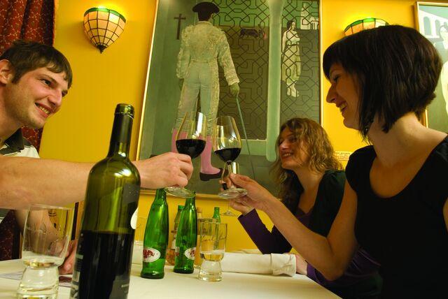 Velký výběr vín