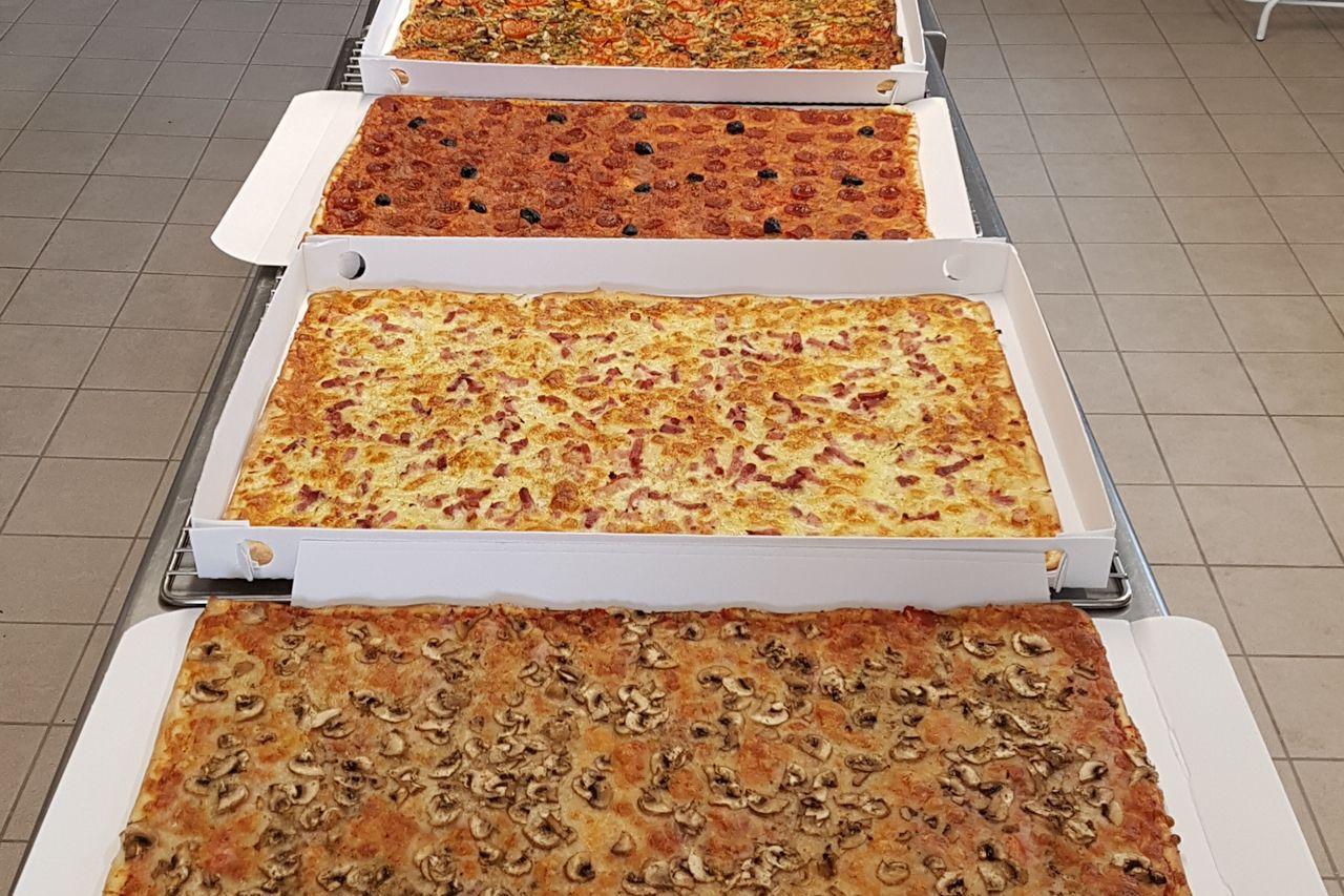 Plaques à pizza