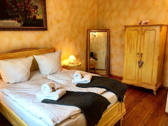 Doppelzimmer Deluxe Seeseite mit drei Räumen
