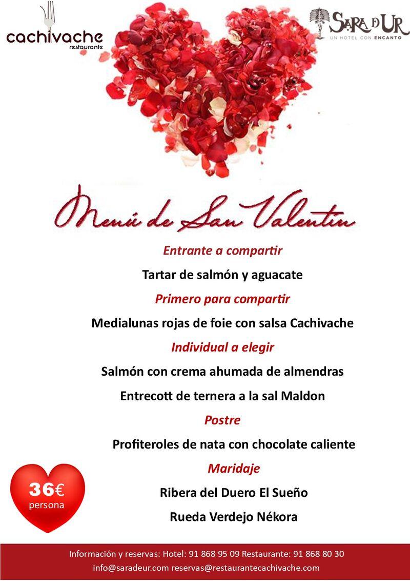 ¡Ven a celebrar la noche más romántica del año con nosotros! ¡Haz ya tu reserva!