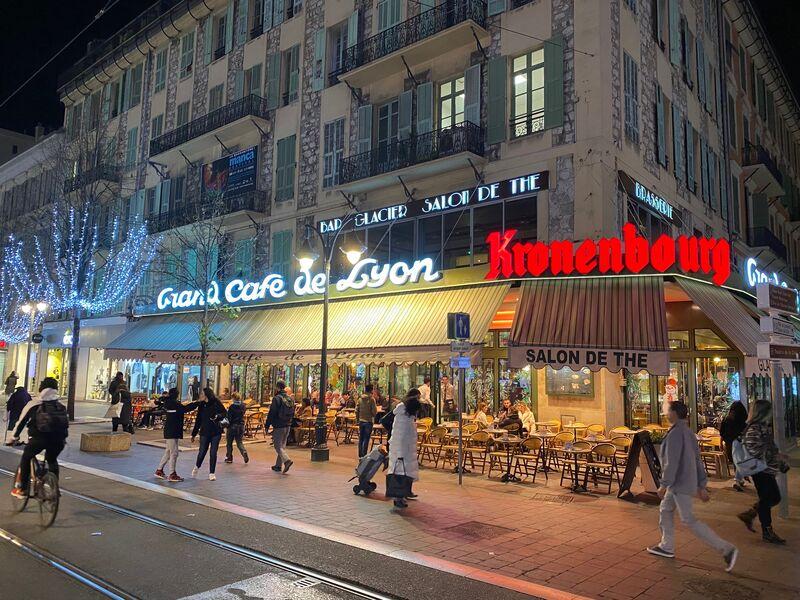 Le Grand Café de Lyon à Nice depuis 1900
