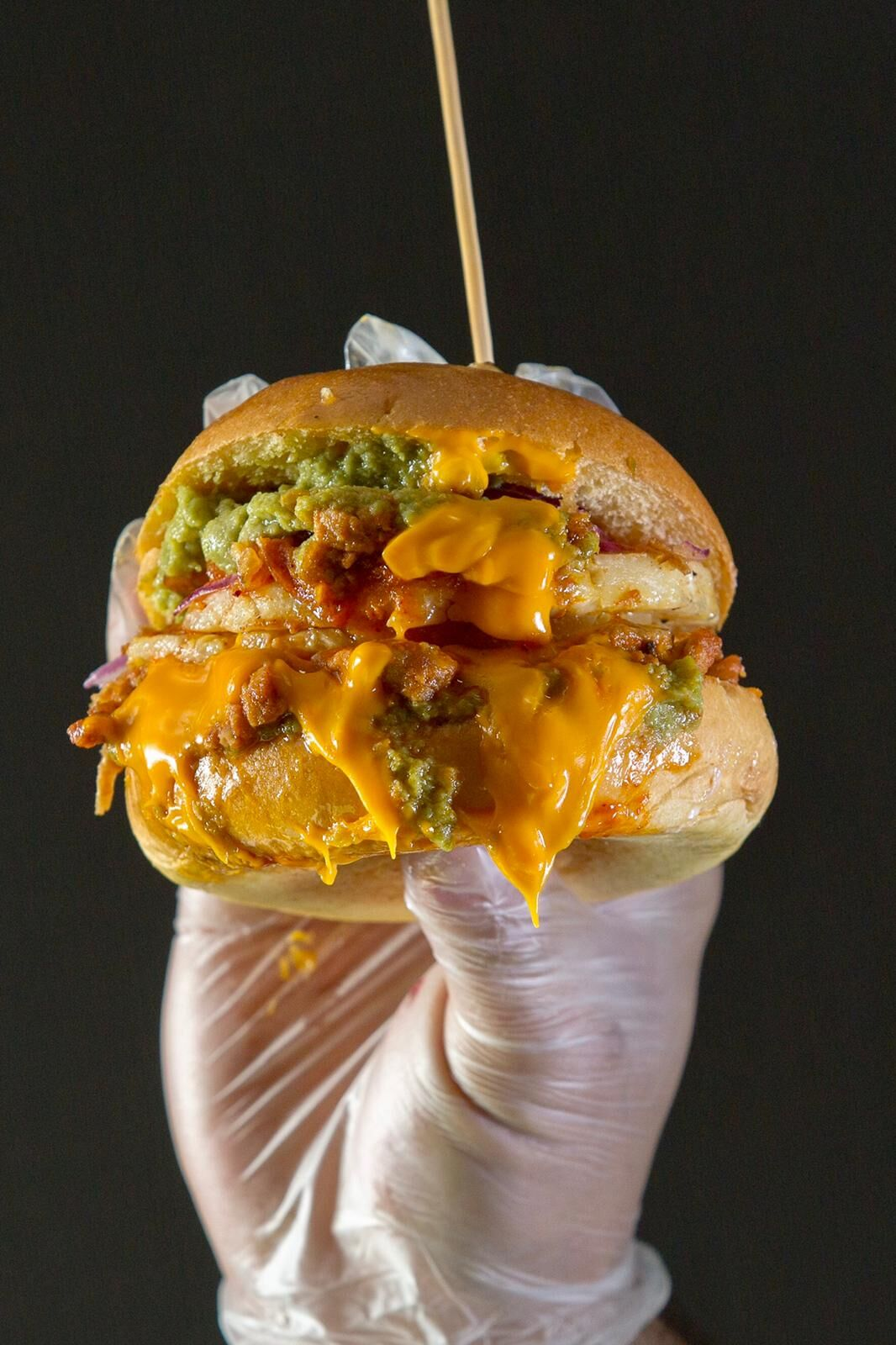 Habéis comida Tacos al Pastor. La Burger la Choni. Te llevará a otro nivel.