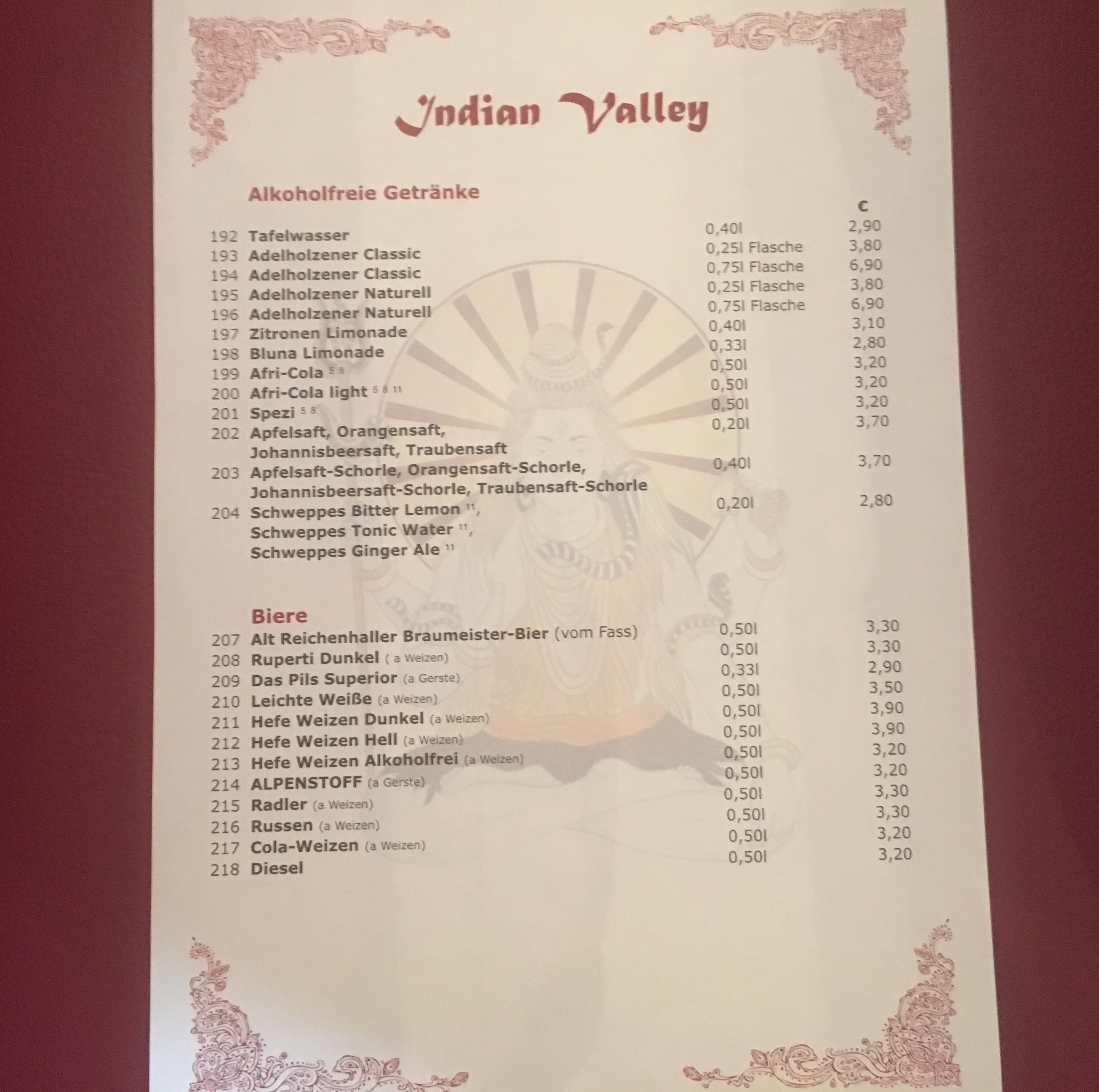 Indian Valley Restaurant - Étterem Bad Reichenhall | Indiai konyha a ...