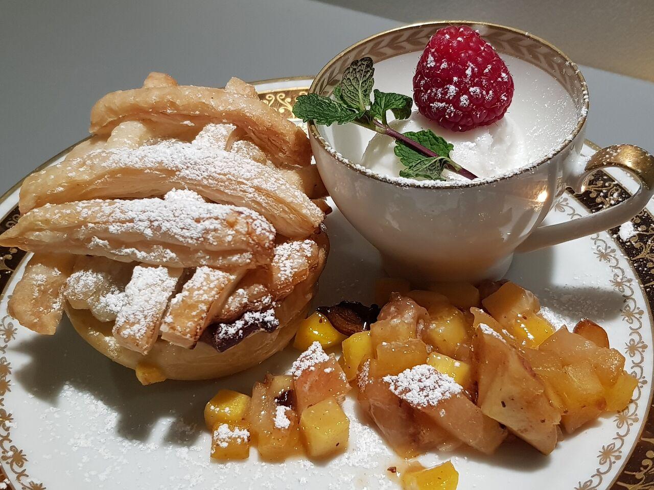 Hausgemachtes Dessert