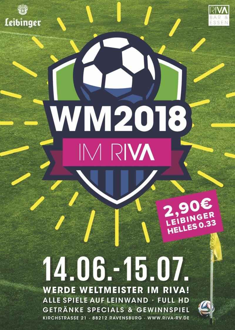 Flyer Fussball-WM 2018